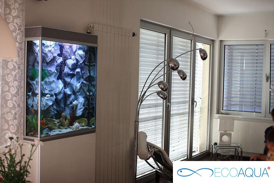 Aquarium in apartment