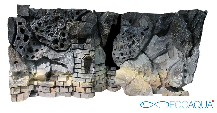 Kombiniert Aquarium Hintergrund